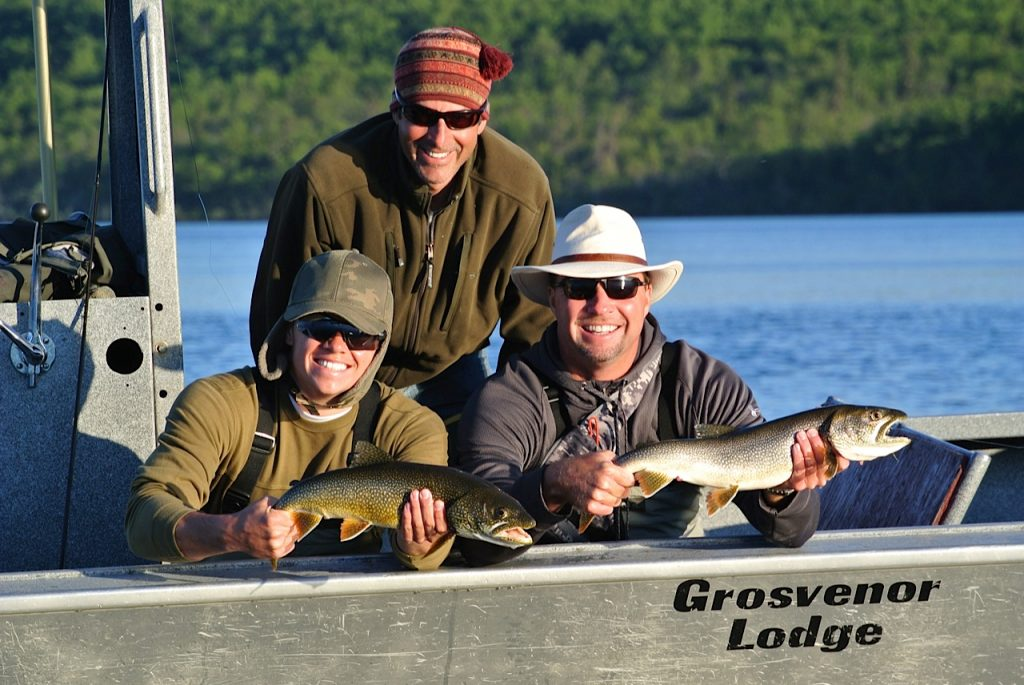 Grosvenor Lodge Lake Trout