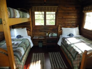 Grosvenor Lodge Guest Cabin Interior