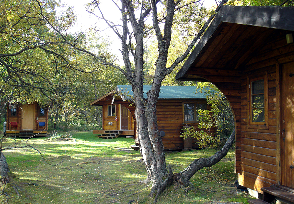 Grosvenor Lodge Guest Cabins and Bathhouse